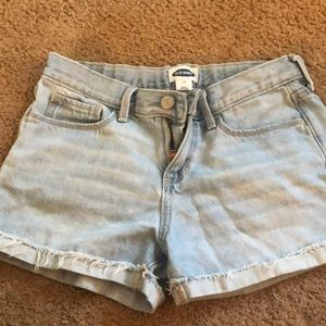 Old navy distressed shorts!